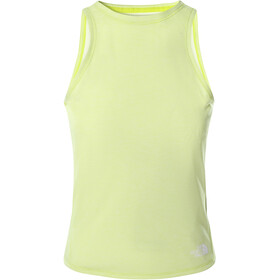 The North Face Vyrtue Tank Women sulphur spring green heather